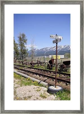 Kalispell Crossing Framed Print