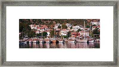 Kalkan, Turkey Framed Print