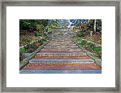 Kalorama Spanish Steps Framed Print