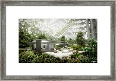Kalpana One Living Room Framed Print by Bryan Versteeg