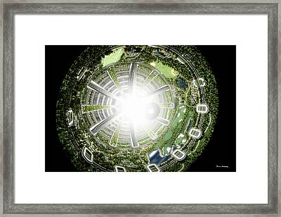 Kalpana One Space Station Section Framed Print