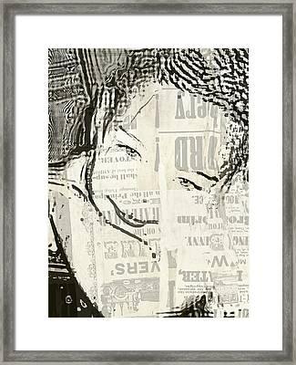 KAM Framed Print by HollyWood Creation By linda zanini