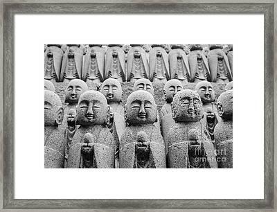 Kamakura Buddha II Framed Print by Dean Harte