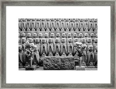 Kamakura Buddha IIi Framed Print by Dean Harte