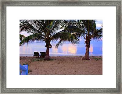 Kamalame Cay Framed Print by Carey Chen