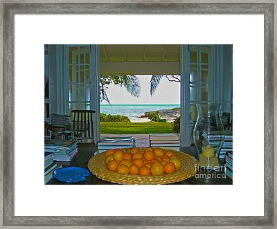 Kamalame View Framed Print