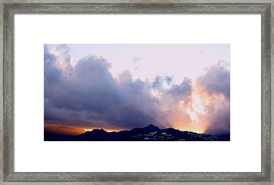 Kamehameha Sunrise Framed Print by Kevin Smith