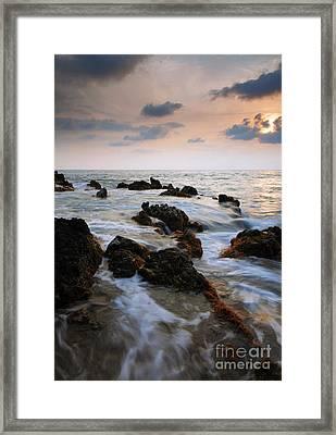 Kameole Sunset Framed Print