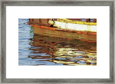 Kampot Boat 02 Framed Print
