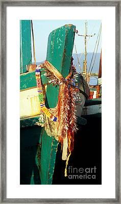 Kampot Boat 08 Framed Print