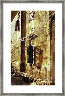 Kampot Lane Framed Print by Rick Piper Photography
