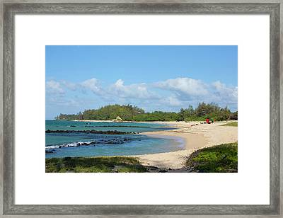 Kanaha Beach Park, Maui, Hawaii Framed Print by Douglas Peebles
