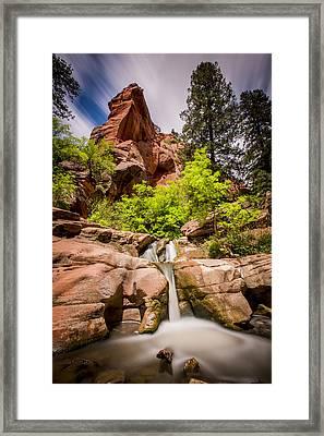 Kanarra Creek Framed Print