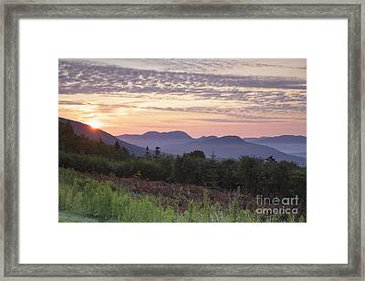 Kancamagus Highway - White Mountains New Hampshire Usa Framed Print