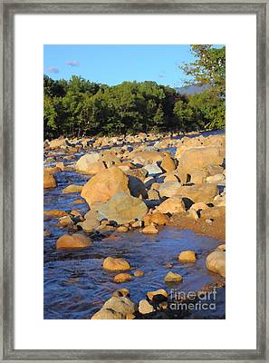 Kancamagus River - New Hampshire Framed Print