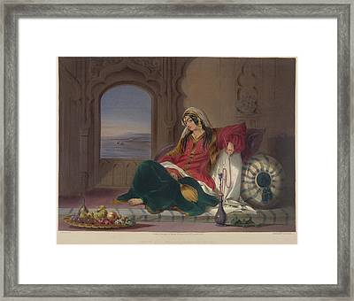 Kandahar Lady Of Rank Framed Print by British Library