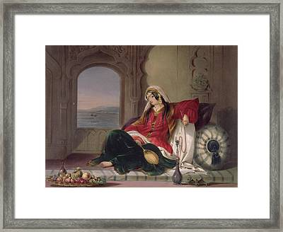 Kandahar Lady Of Rank Framed Print by James Rattray