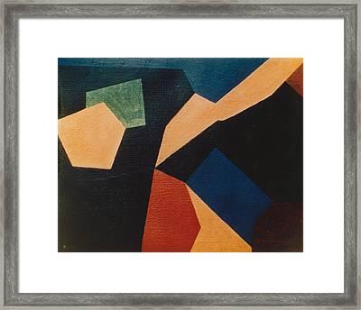 Kandinsky Homage 1972 Framed Print