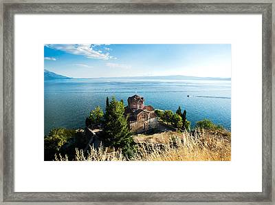 Kaneo - Ohrid Framed Print