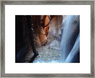 Kanerra Creek  Framed Print