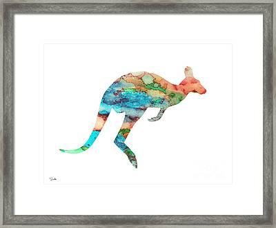 Kangaroo 3 Framed Print