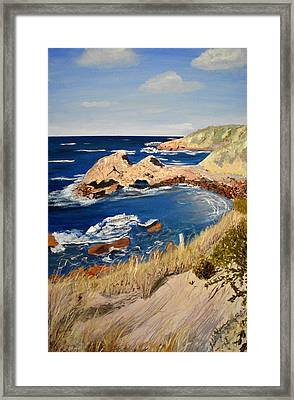 Kangaroo Island Lookout Framed Print
