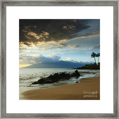 Kanoelani Heavenly Mist Framed Print by Sharon Mau