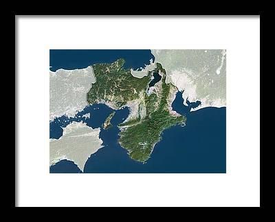 Kansai Region Framed Prints
