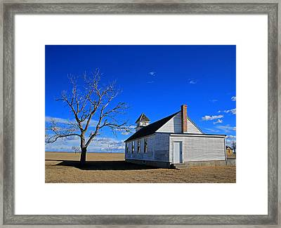 Kansas Church Framed Print