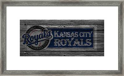 Kansas City Royals Framed Print by Joe Hamilton