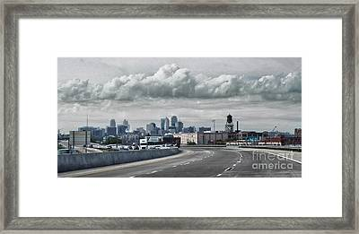 Kansas City - 01 Framed Print by Gregory Dyer