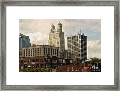 Kansas City - 03 Framed Print by Gregory Dyer