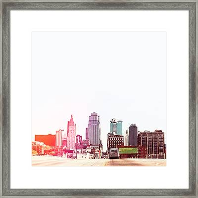 Kansas City #2 Framed Print by Stacia Blase