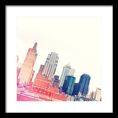Skyline Photographs Framed Prints