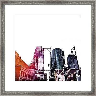 Kansas City #5 Framed Print by Stacia Blase
