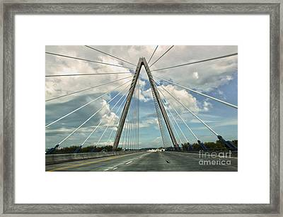 Kansas City Bridge - 01 Framed Print by Gregory Dyer