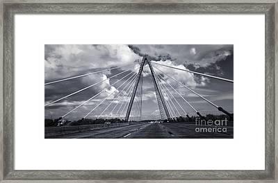 Kansas City Bridge - 02 Framed Print by Gregory Dyer