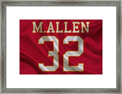 Kansas City Chiefs Marcus Allen Framed Print