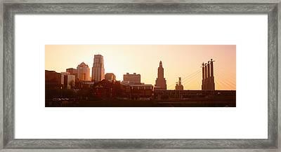 Kansas City, Missouri, Usa Framed Print by Panoramic Images