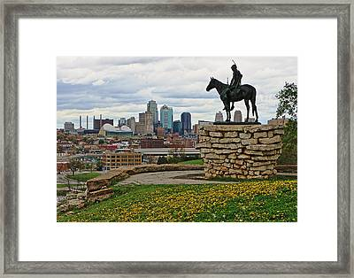 Kansas City Scout Framed Print