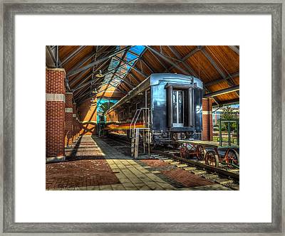 Framed Print featuring the photograph Kansas City Southern by Ross Henton