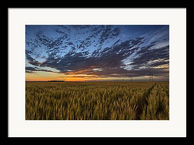 Colorful Sunset Framed Prints