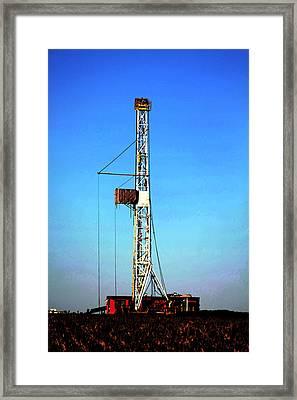 Kansas Gold Framed Print