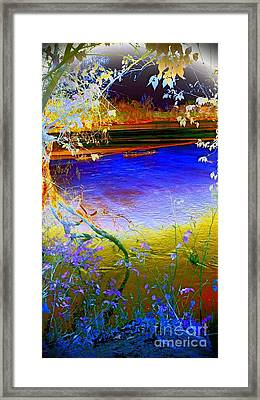 Kansas River 2 Framed Print