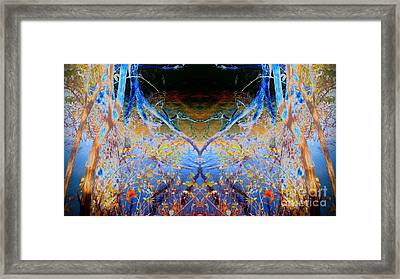 Kansas River Fantasy Framed Print