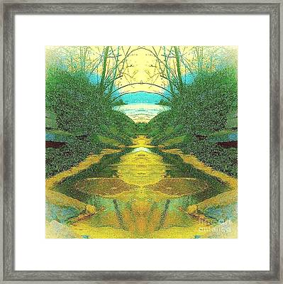 Kansas River Framed Print