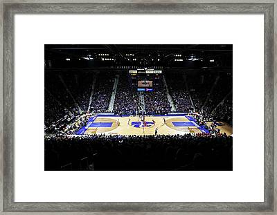 Kansas State Wildcats Fred Bramlage Coliseum Framed Print by Replay Photos