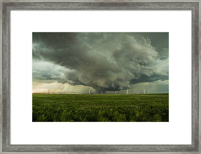Kansas Wall Framed Print