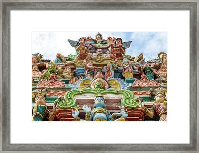 Kapaleeswarar Hindu Temple, Chennai Framed Print