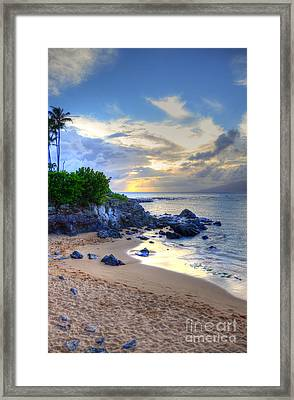 Kapalua Bay Framed Print by Kelly Wade